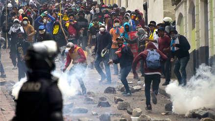 Ecuador suspende transporte de petróleo y reporta pérdidas de más de 12 millones de dólares