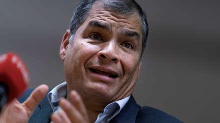 Correa no descarta postularse en elecciones de Ecuador en medio de protestas que sacuden al Gobierno