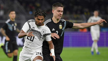 Argentina reaccionó y empató 2-2 ante Alemania en amistoso internacional por Fecha FIFA