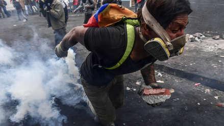 Cinco muertos en una semana de protestas en Ecuador contra el Gobierno de Lenín Moreno