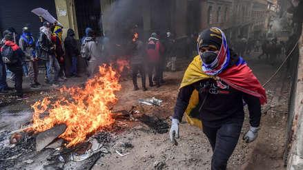 Indígenas de Ecuador piden al Ejército que retire apoyo al presidente Lenín Moreno