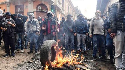 Gobierno de Ecuador asegura que hay extranjeros entre detenidos por protestas violentas