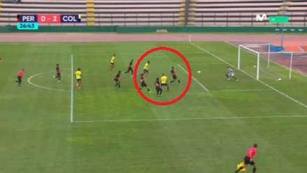 Colombia anotó el segundo gol ante Perú con exquisita definición de zurda