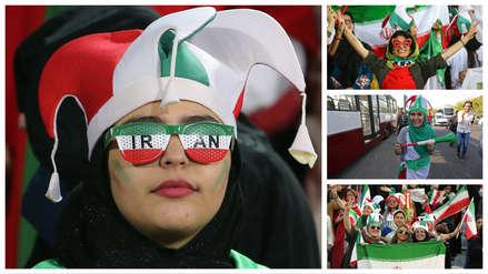 ¡Histórico! Irán permite el ingreso de mujeres a un estadio de fútbol después de décadas [Fotos]