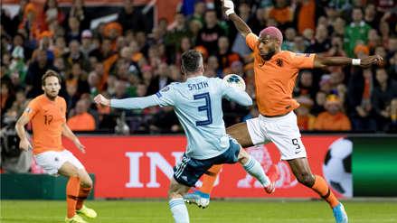 Con doblete de Depay, Holanda ganó 3-1 a Irlanda del Norte por las Eliminatorias Eurocopa 2020