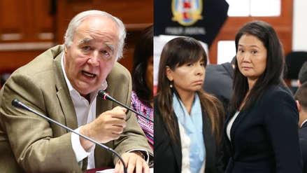 García Belaunde: Fuerza Popular tenía el interés de elegir magistrados del TC para resolver el tema Keiko Fujimori