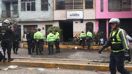 La Victoria: Ministerio Público investiga a responsables de deflagración de gas en un restaurante