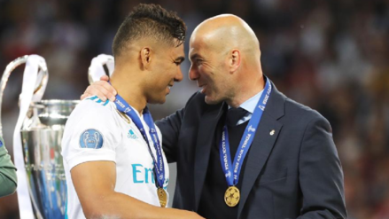 Casemiro sobre Zinedine Zidane
