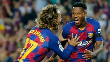 Ansu Fati fue convocado a la Selección de España Sub 21
