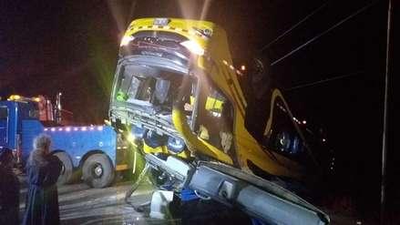 Tragedia en la Carretera Central: volcadura de bus deja 5 muertos y más de 20 heridos en La Oroya