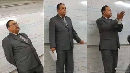 Profesor de Ingeniería dio el ejemplo con este sobrio homenaje a José José en las aulas
