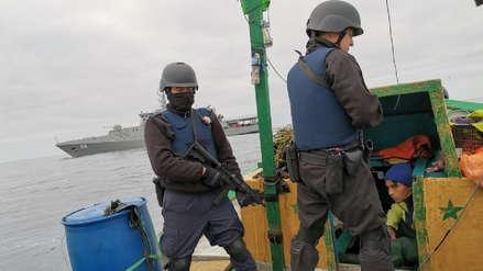 Armada chilena capturó a tres embarcaciones peruanas que pescaban en su mar territorial