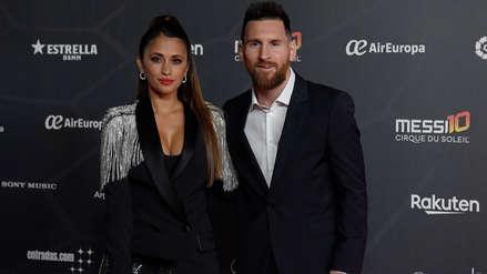 Lionel Messi y Antonela Roccuzzo se lucieron en la alfombra roja en el estreno de
