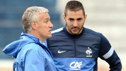 Didier Deschamps descarta vuelta de Karim Benzema a Selección de Francia: