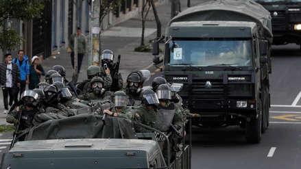 La CIDH denunció la violencia y alarmante represión en las protestas en Ecuador