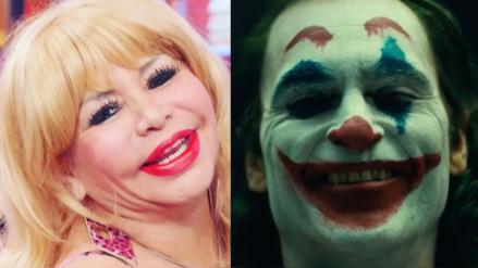 """Susy Díaz sobre el Joker: """"Te copiaste mi maquillaje"""""""