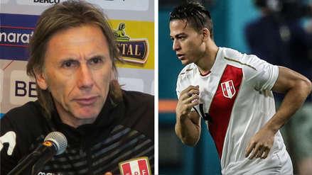 Cristian Benavente confirmó que habló con Ricardo Gareca: