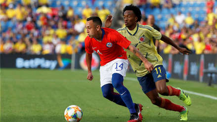 Colombia y Chile empataron 0-0 en la vuelta de Claudio Bravo