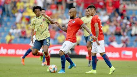 Con Arturo Vidal, Chile empató 0-0 ante Colombia en amistoso internacional por fecha FIFA