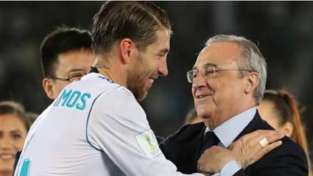 Florentino Pérez sobre Sergio Ramos