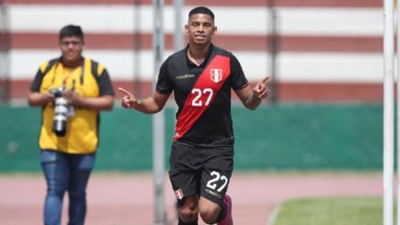 Kevin Quevedo habló tras darle la victoria a Perú ante Colombia en amistoso internacional