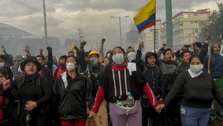 Se inició el diálogo entre el movimiento indígena y el Gobierno de Lenín Moreno en medio de protestas