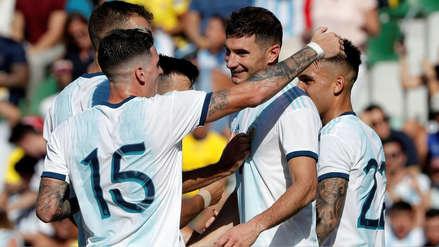 Argentina 6-1 Ecuador: resultado, resumen y goles del amistoso internacional