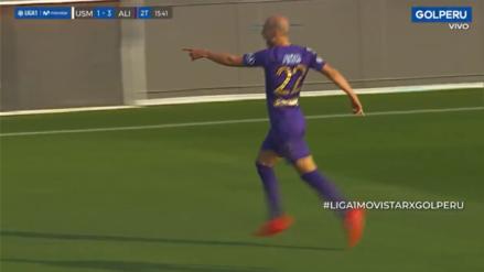 Para sellar el triunfo: el gol de Federico Rodríguez que significó el 3-1 para Alianza Lima