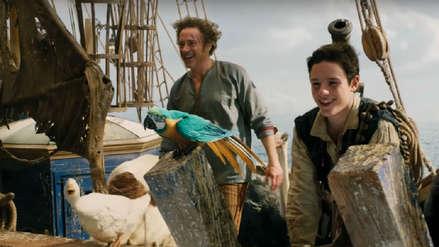 Robert Downey Jr. se aleja de Marvel y ahora habla con los animales en el tráiler de