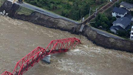 15 fotos del poderoso tifón Hagibis que ha dejado al menos 26 muertos en Japón