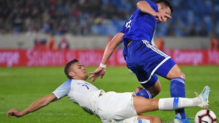 Paraguay y Eslovaquia empataron 1-1 en amistoso internacional por fecha FIFA