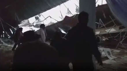 Huancayo: Al menos seis muertos y 40 heridos tras caerse un techo durante fiesta patronal