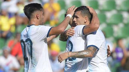 ¡Lluvia de goles! Argentina humilló 6-1 a Ecuador en amistoso internacional