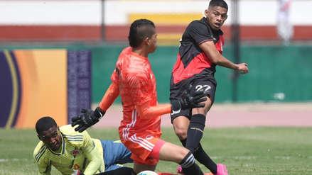 Kevin Quevedo anotó un golazo en el Perú vs. Colombia en amistoso internacional Sub 23