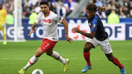 ¡Se repartieron los puntos! Turquía le arrancó un empate 1-1 a Francia en el Estadio Stade de France