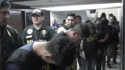 La Policía capturó a 12 presuntos integrantes de la banda 'Los bravos de San Juan' [VIDEO]
