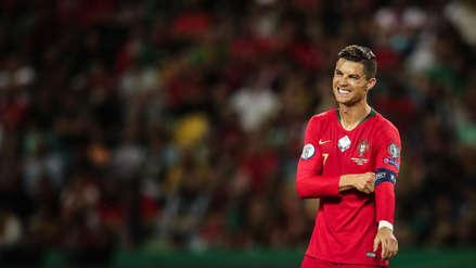 ¡Se molestó CR7! La reacción de Cristiano Ronaldo tras el primer gol de Ucrania