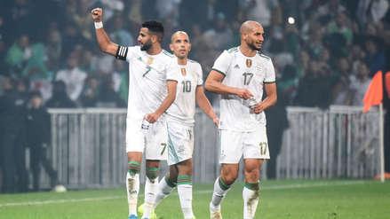 ¡Espléndido! Riyad Mahrez y su gran gol en el duelo entre Argelia y Colombia por fecha FIFA