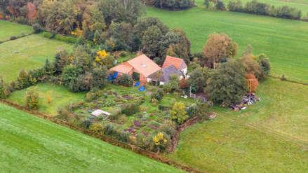 Encuentran a familia que vivía escondida en una granja en Holanda esperando