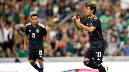 ¡Puso la ventaja! José Juan Macías anotó el segundo gol de México ante Panamá