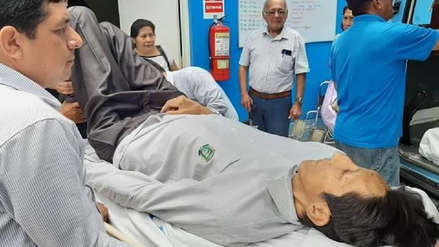 Margarito Machaguay, el hombre más alto del Perú, será operado de emergencia por una fractura