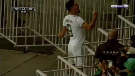 Error en salida y remate al ángulo: el golazo de Argelia para ponerse en ventaja ante Colombia