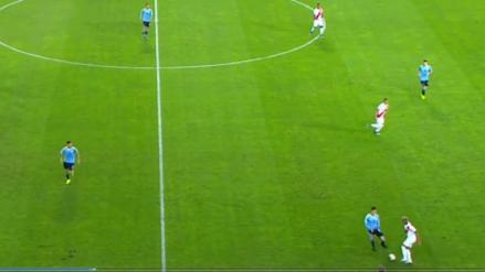 ¡Pura calidad! La jugada de lujo de Miguel Trauco en el Perú vs. Uruguay en el Estadio Nacional