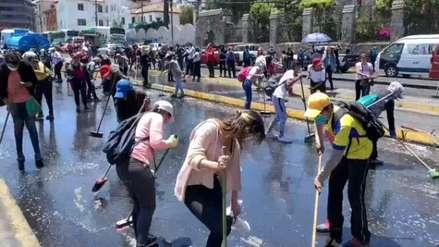 Tarifas de combustibles y transporte vuelven a valores anteriores a las protestas en Ecuador
