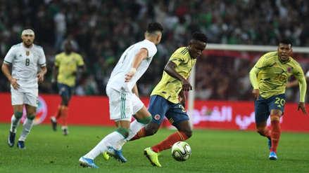 Colombia perdió 3-0 Argelia: resumen, crónica y goles en amistoso internacional