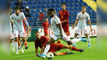 Tres fantásticos regates y un penal no cobrado: así fue el debut de Ansu Fati con la Sub 21 de España