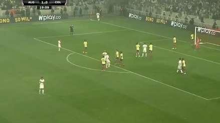 ¡Estiró la ventaja! Riyad Mahrez marcó el 2-0 a favor de Argelia ante Colombia en amistoso internacional