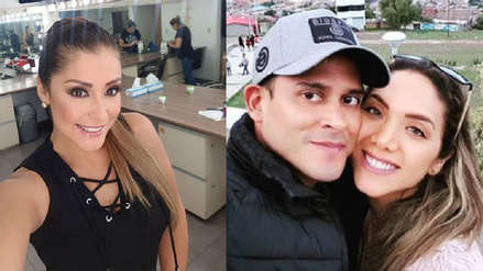 Karla Tarazona se pronunció tras ruptura de Christian Domínguez e Isabel Acevedo