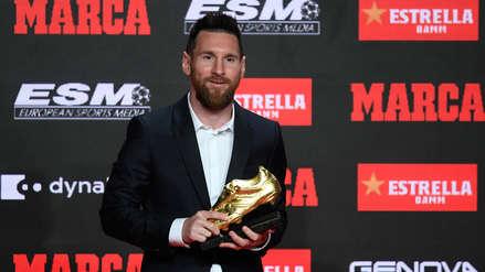 Lionel Messi recibió la Bota de Oro por sexta vez en su carrera