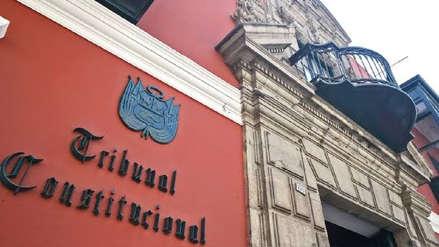 Comisión del TC elaboró proyecto para admitir a trámite la demanda competencial de Olaechea